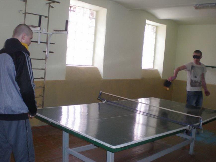 Неповнолітні ув'язнені Івано-Франківської УВП № 12 навчалися основ гри в настільний теніс (ФОТО) (фото) - фото 2