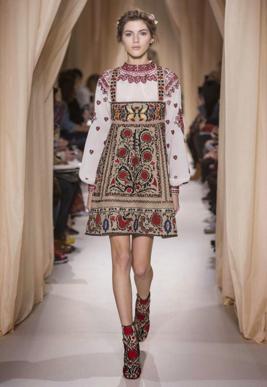 Українська вишиванка - тренд високої моди, - Vogue (ФОТО), фото-1