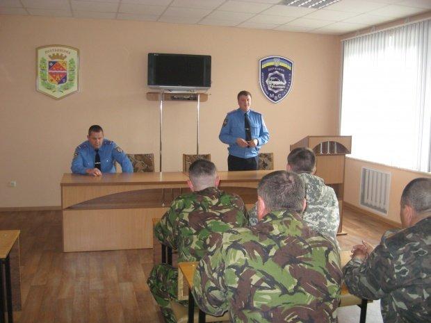 В перший день травня співробітники УДАІ Полтавщини повернулися з зони АТО (фото) - фото 1