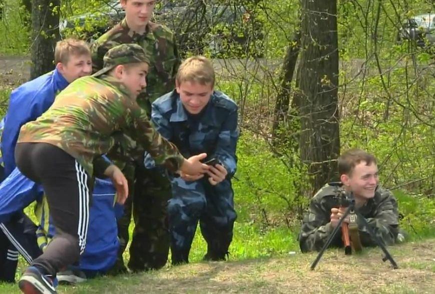 Допризывная военная подготовка на Сумщине (ФОТО) (фото) - фото 1