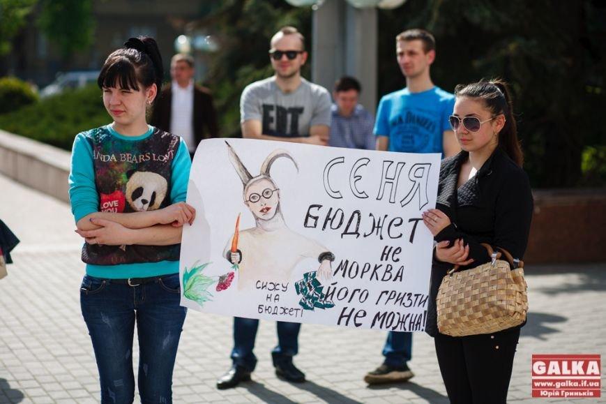 В Івано-Франківську знову організували протест за зменшення тарифів, фото-1