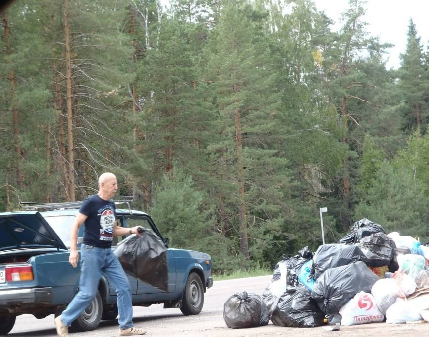 сброс мусора 2