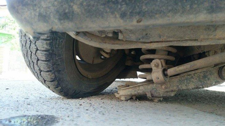 На франківських дорогах автомобілі втрачають колеса (ФОТО) (фото) - фото 2