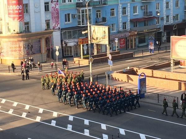 Как в «ДНР» готовятся к военному параду в Донецке (ФОТО) (фото) - фото 4