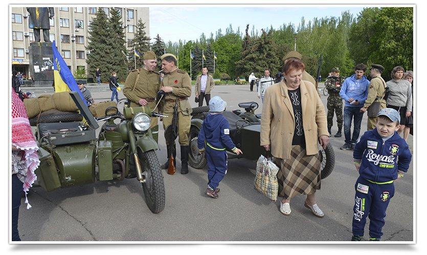 Славянск посетили раритетные автомобили времён Второй мировой войны (фото) - фото 16