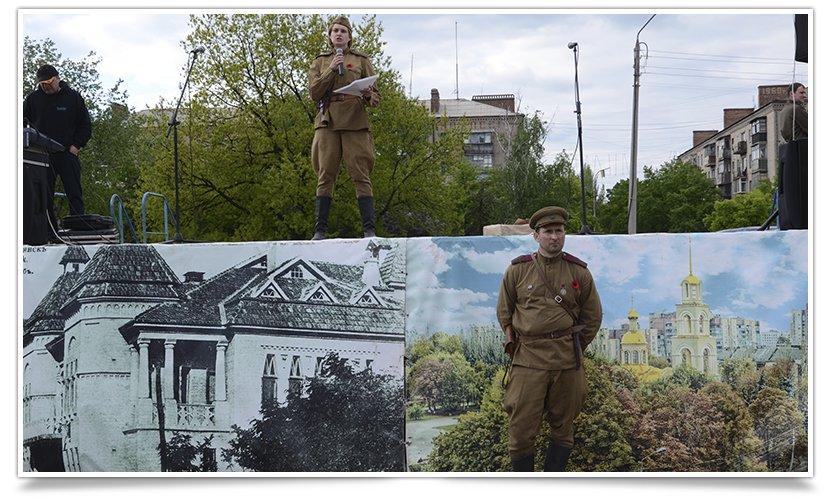 Славянск посетили раритетные автомобили времён Второй мировой войны (фото) - фото 13