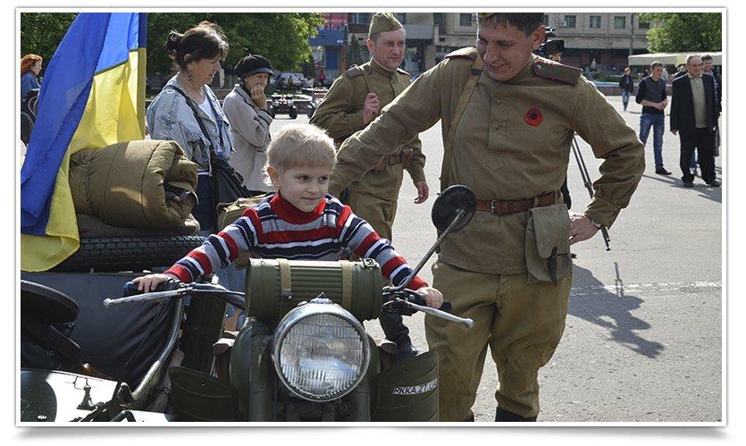 Славянск посетили раритетные автомобили времён Второй мировой войны (фото) - фото 6