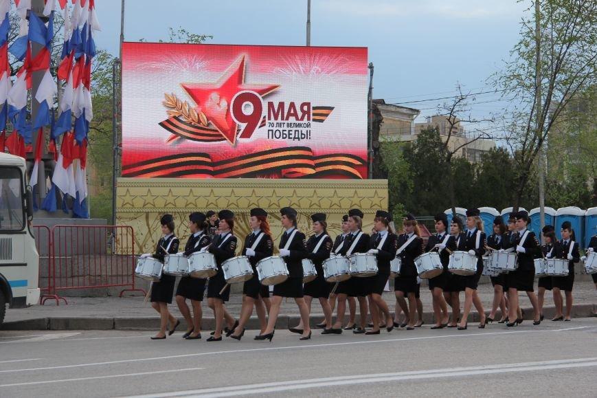 В Волгограде прошла репетиция парада ко Дню Победы, фото-5