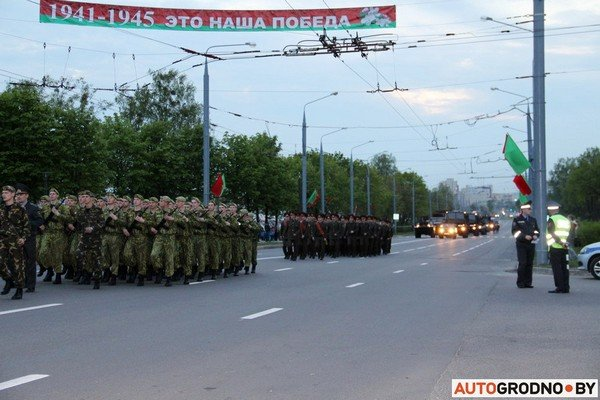 Фотофакт: в Гродно прошла масштабная репетиция военного парада перед 9 мая (фото) - фото 16