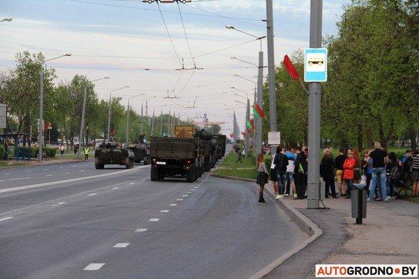 Фотофакт: в Гродно прошла масштабная репетиция военного парада перед 9 мая (фото) - фото 12