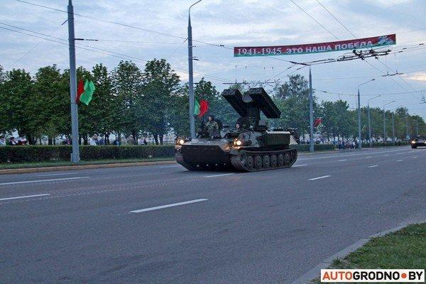 Фотофакт: в Гродно прошла масштабная репетиция военного парада перед 9 мая (фото) - фото 18