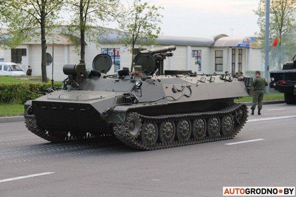 Фотофакт: в Гродно прошла масштабная репетиция военного парада перед 9 мая (фото) - фото 3