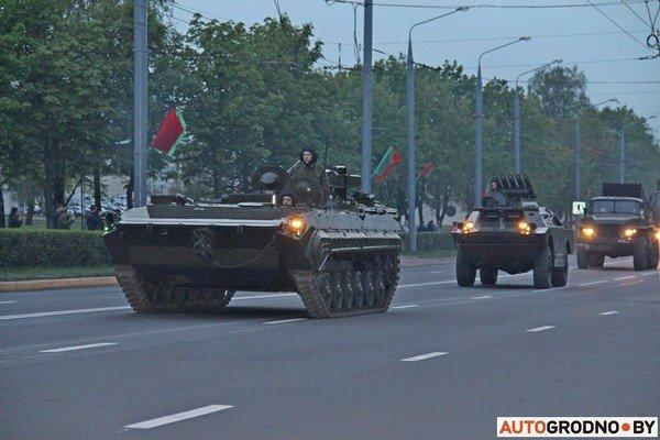Фотофакт: в Гродно прошла масштабная репетиция военного парада перед 9 мая (фото) - фото 20