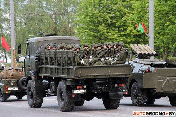 Фотофакт: в Гродно прошла масштабная репетиция военного парада перед 9 мая (фото) - фото 10