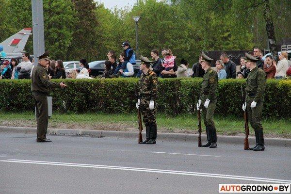Фотофакт: в Гродно прошла масштабная репетиция военного парада перед 9 мая (фото) - фото 14