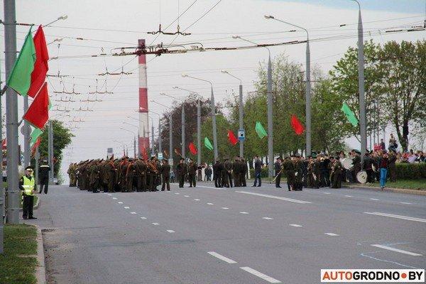 Фотофакт: в Гродно прошла масштабная репетиция военного парада перед 9 мая (фото) - фото 13