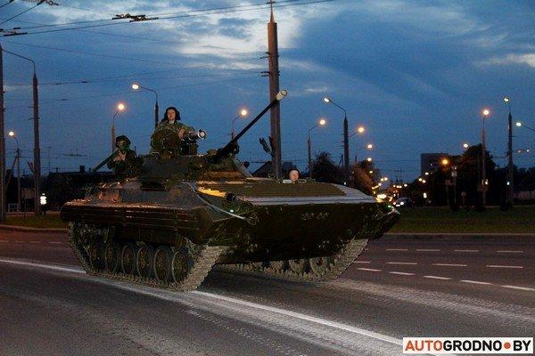 Фотофакт: в Гродно прошла масштабная репетиция военного парада перед 9 мая (фото) - фото 27