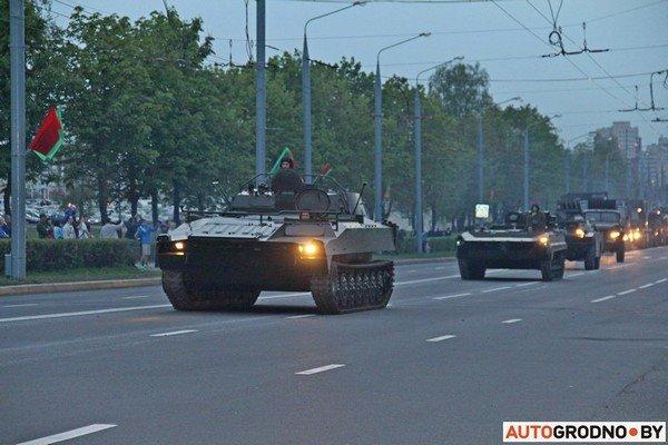 Фотофакт: в Гродно прошла масштабная репетиция военного парада перед 9 мая (фото) - фото 19