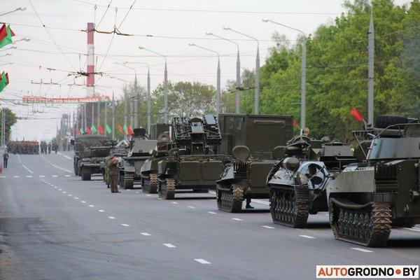 Фотофакт: в Гродно прошла масштабная репетиция военного парада перед 9 мая (фото) - фото 11