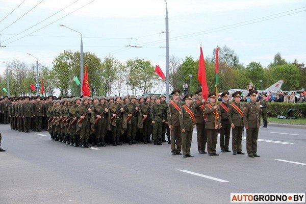 Фотофакт: в Гродно прошла масштабная репетиция военного парада перед 9 мая (фото) - фото 15