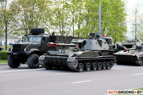 Фотофакт: в Гродно прошла масштабная репетиция военного парада перед 9 мая (фото) - фото 9