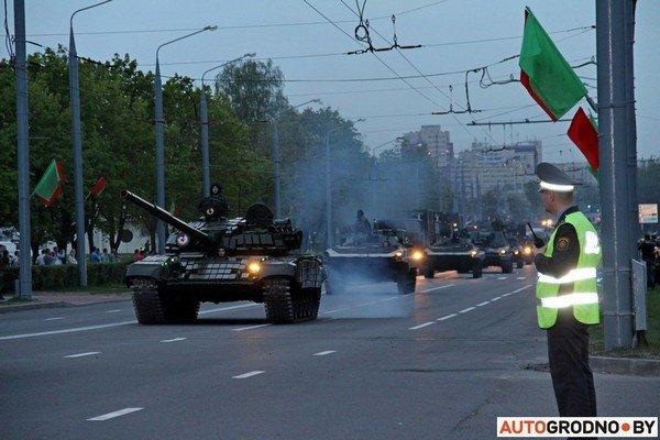 Фотофакт: в Гродно прошла масштабная репетиция военного парада перед 9 мая (фото) - фото 17