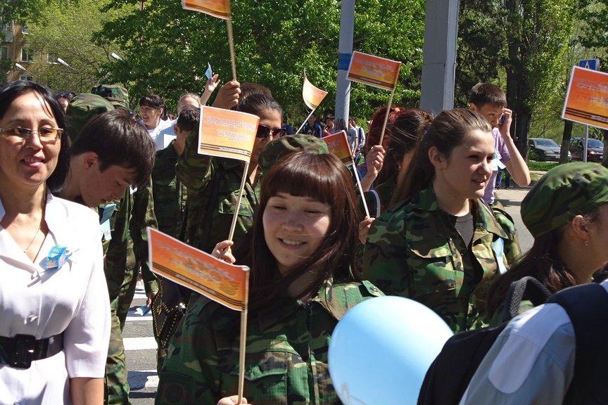 В Усть-Каменогорске состоялась акция, посвященная легендарной 30-ой Гвардейской дивизии, фото-8
