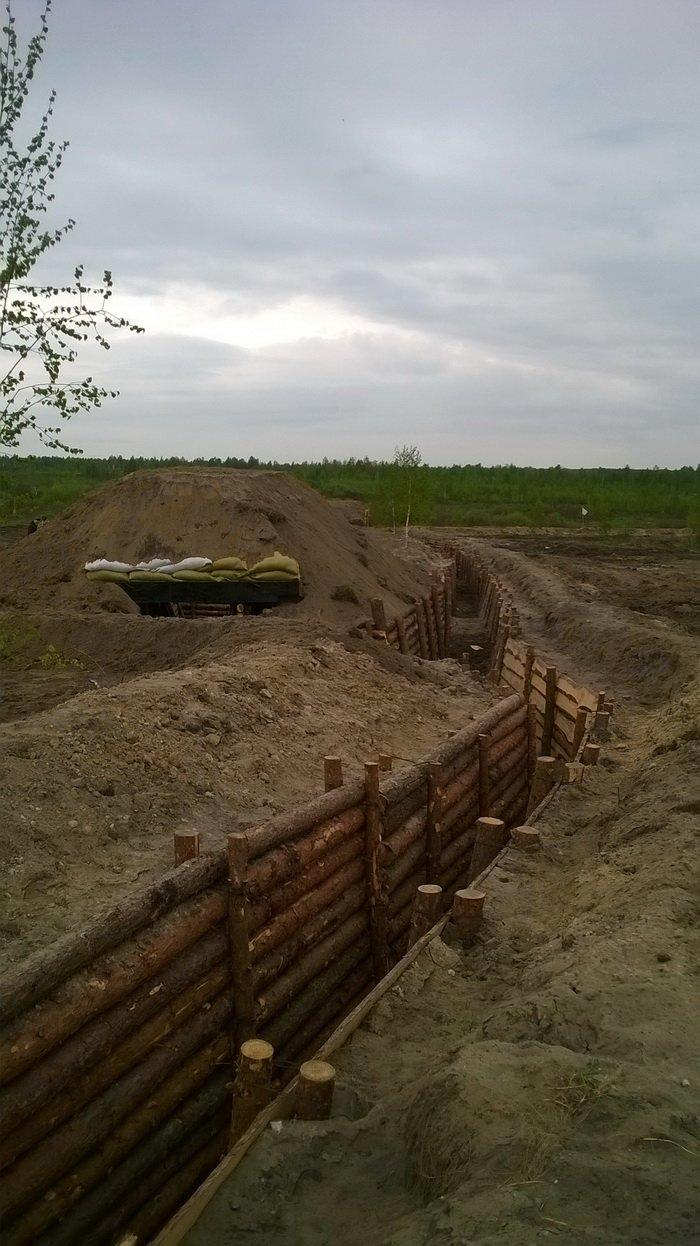 На житомирському загальновійськовому полігоні обстрілювали фортифікаційну споруду, фото-1