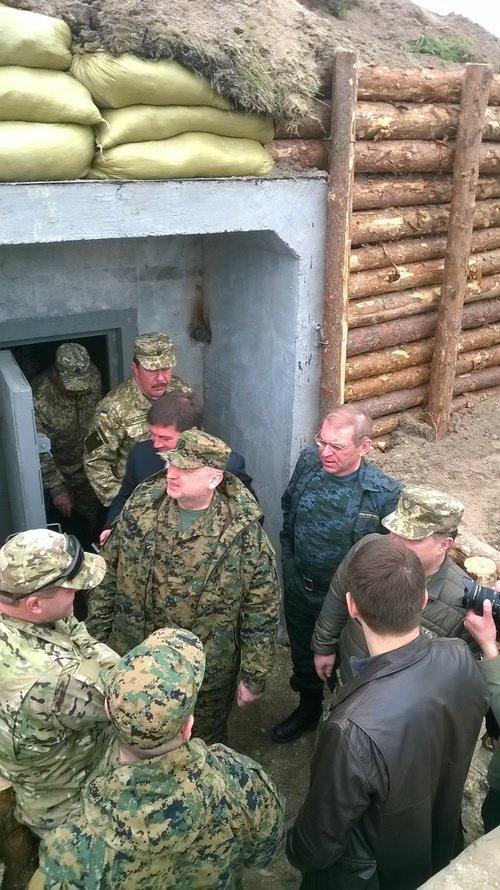 На житомирському загальновійськовому полігоні обстрілювали фортифікаційну споруду, фото-2