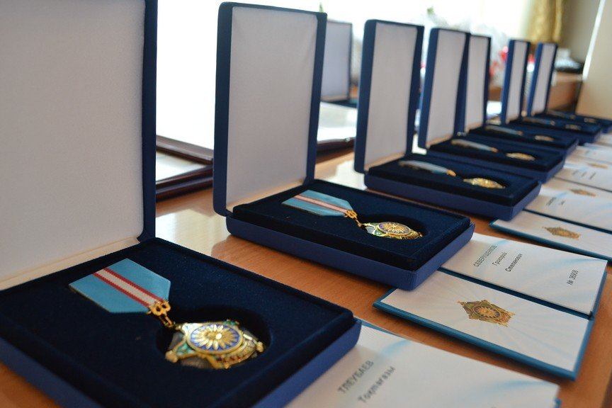 Государственные награды ветеранам войны