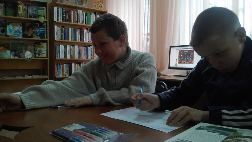 Херсонская детвора пишет письма и открытки бойцам АТО (фото), фото-2
