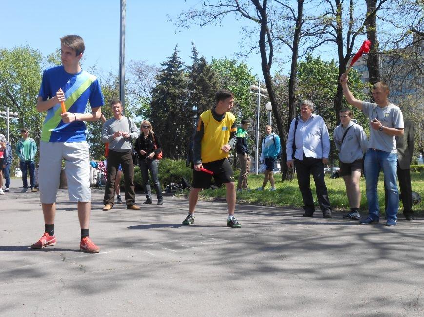 В Днепродзержинске прошла эстафета, посвященная 70-летию Победы над нацизмом в Европе (фото) - фото 4