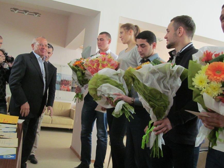 Представители городской власти поздравили кременчугских спортсменов с победами (ФОТО), фото-10
