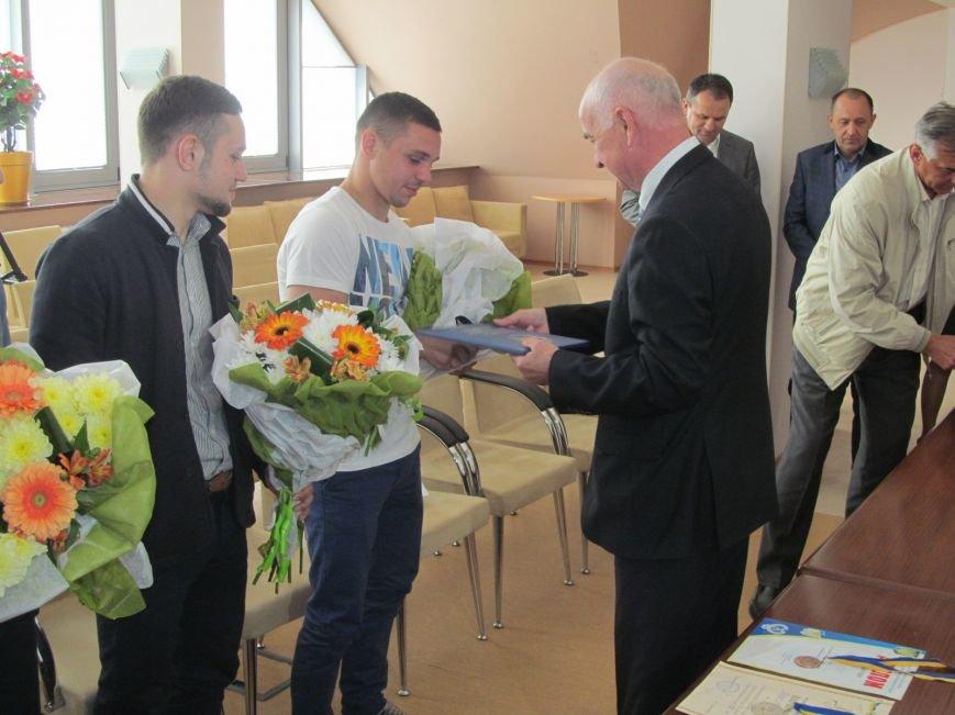 Представители городской власти поздравили кременчугских спортсменов с победами (ФОТО), фото-12