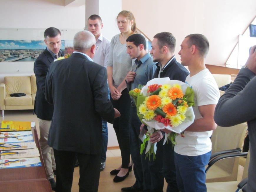 Представители городской власти поздравили кременчугских спортсменов с победами (ФОТО), фото-8