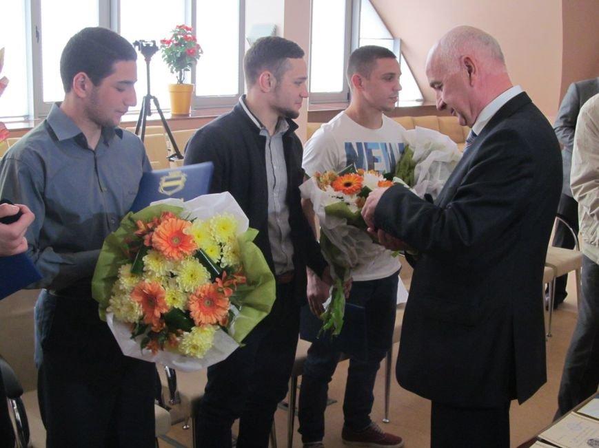 Представители городской власти поздравили кременчугских спортсменов с победами (ФОТО), фото-13