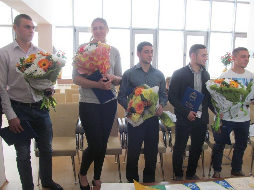 Представители городской власти поздравили кременчугских спортсменов с победами (ФОТО), фото-14