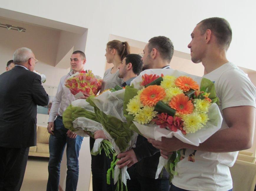 Представители городской власти поздравили кременчугских спортсменов с победами (ФОТО), фото-9