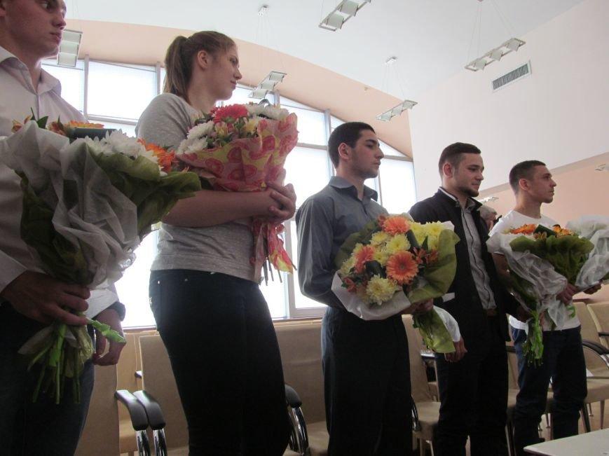 Представители городской власти поздравили кременчугских спортсменов с победами (ФОТО), фото-11