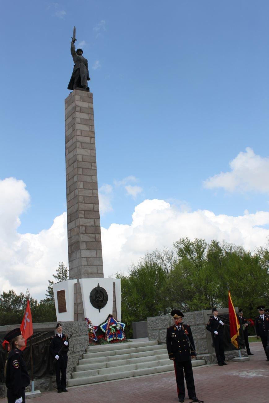 В Волгограде открыли памятник чекистам после реконструкции, фото-5
