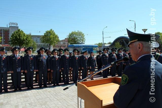 Сегодня Гомельской таможне вручено знамя (фото) - фото 1