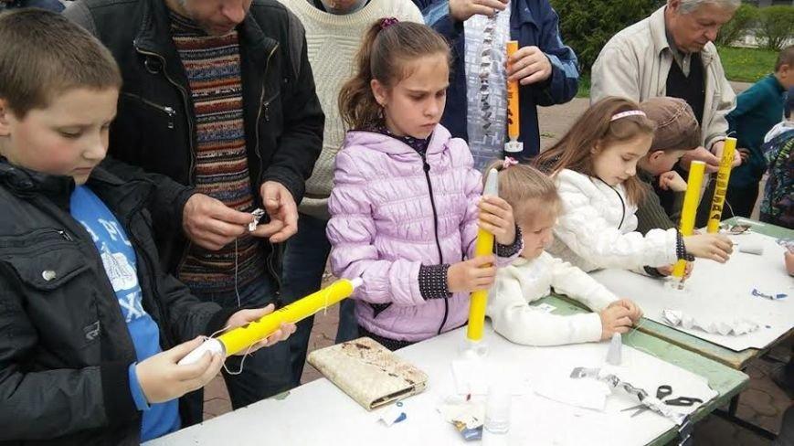 Львівські дітлахи навчили створювати ракетомоделі (ФОТО) (фото) - фото 1