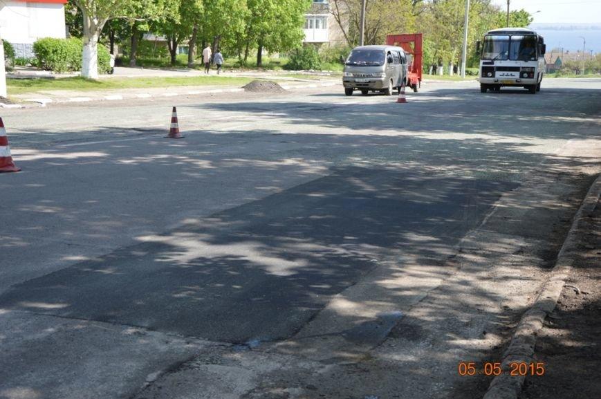 В Никополе продолжается текущий ремонт дорог (фото) - фото 4