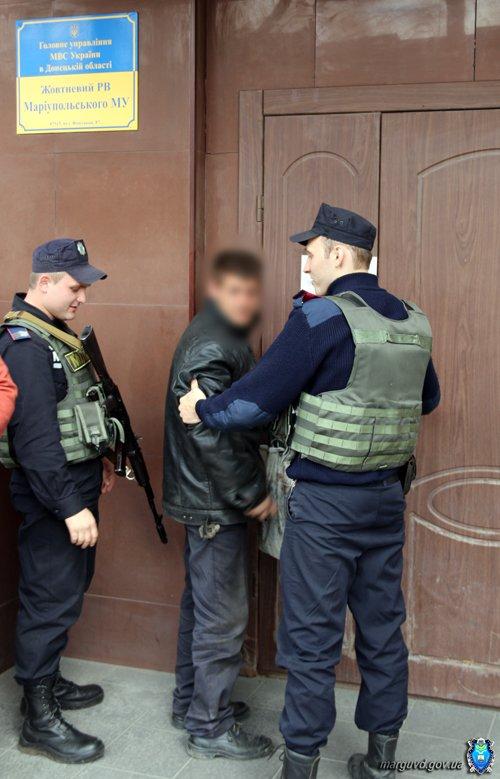 Милиция Мариуполя провела работу с попрошайками в центре города (ФОТО), фото-5