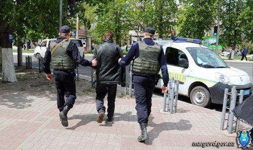Милиция Мариуполя провела работу с попрошайками в центре города (ФОТО), фото-4