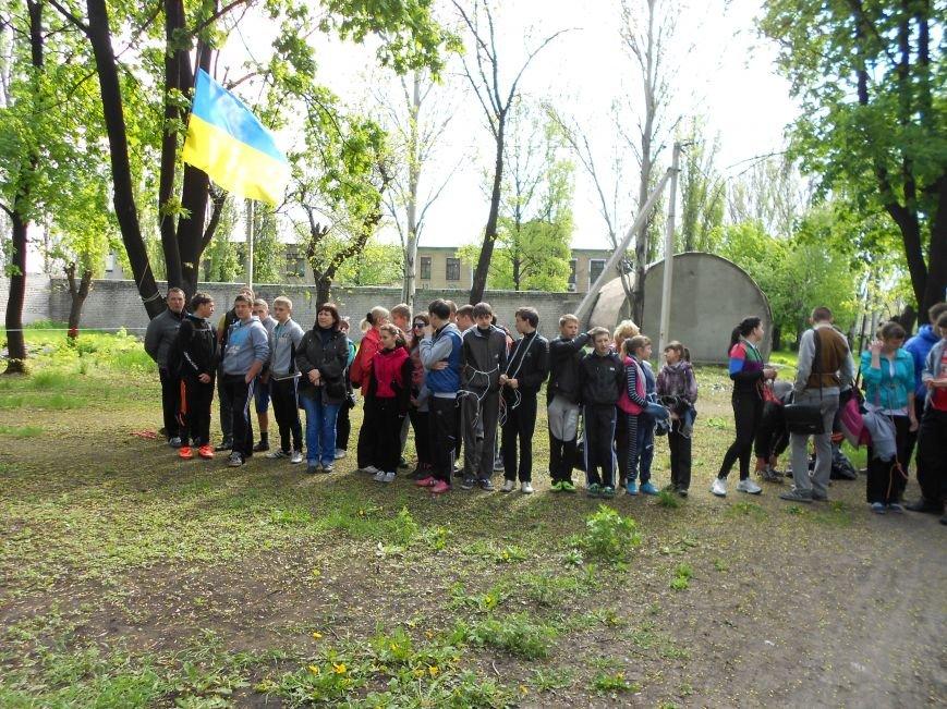 В Доброполье состоялась Всеукраинская военно-патриотическая игра «Сокол-Джура» (фото) - фото 1