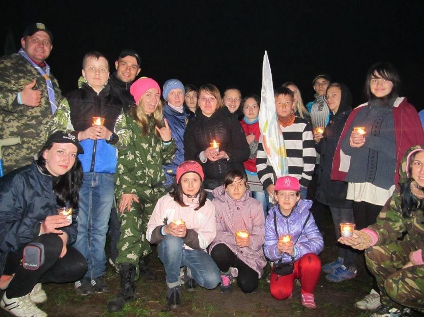 Краматорчане приняли участие в скаутском слете «Козацькими шляхами» (фото) - фото 20