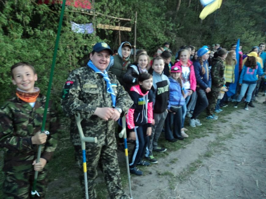 Краматорчане приняли участие в скаутском слете «Козацькими шляхами» (фото) - фото 7