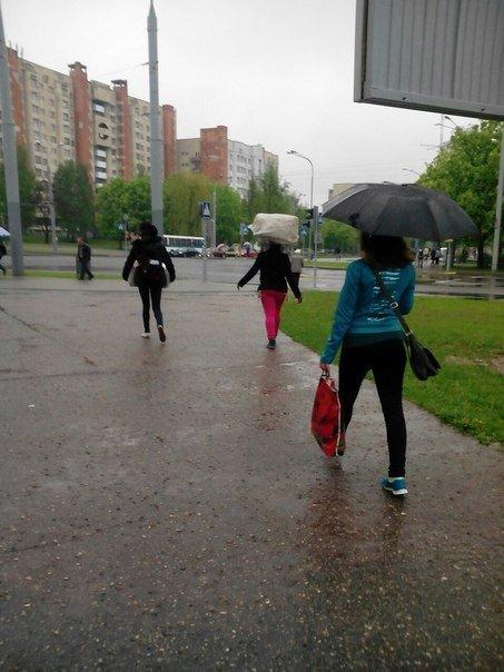 В Гродно сильный дождь за сутки подтопил 5 домов, 8 подворий и одно СТО (фото) - фото 4
