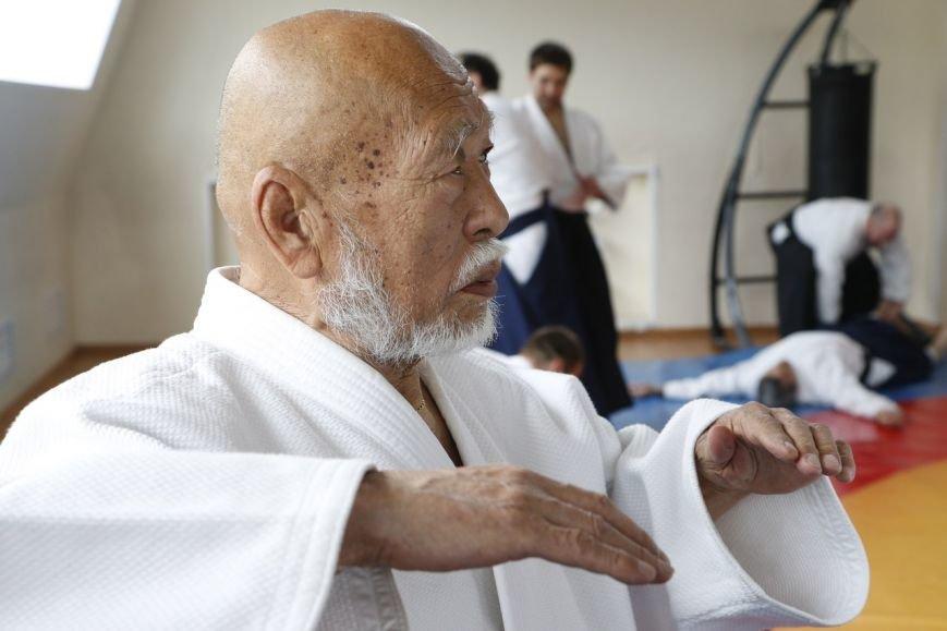 В ФОК «Фокус» Домодедово прошёл семинар Ватанабе Сенсея, ученика основателя Айкидо (фото) - фото 1